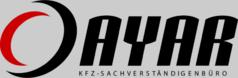 Ayar Logo, KFZ Sachverständigenbüro, Kraftfahrzeug München